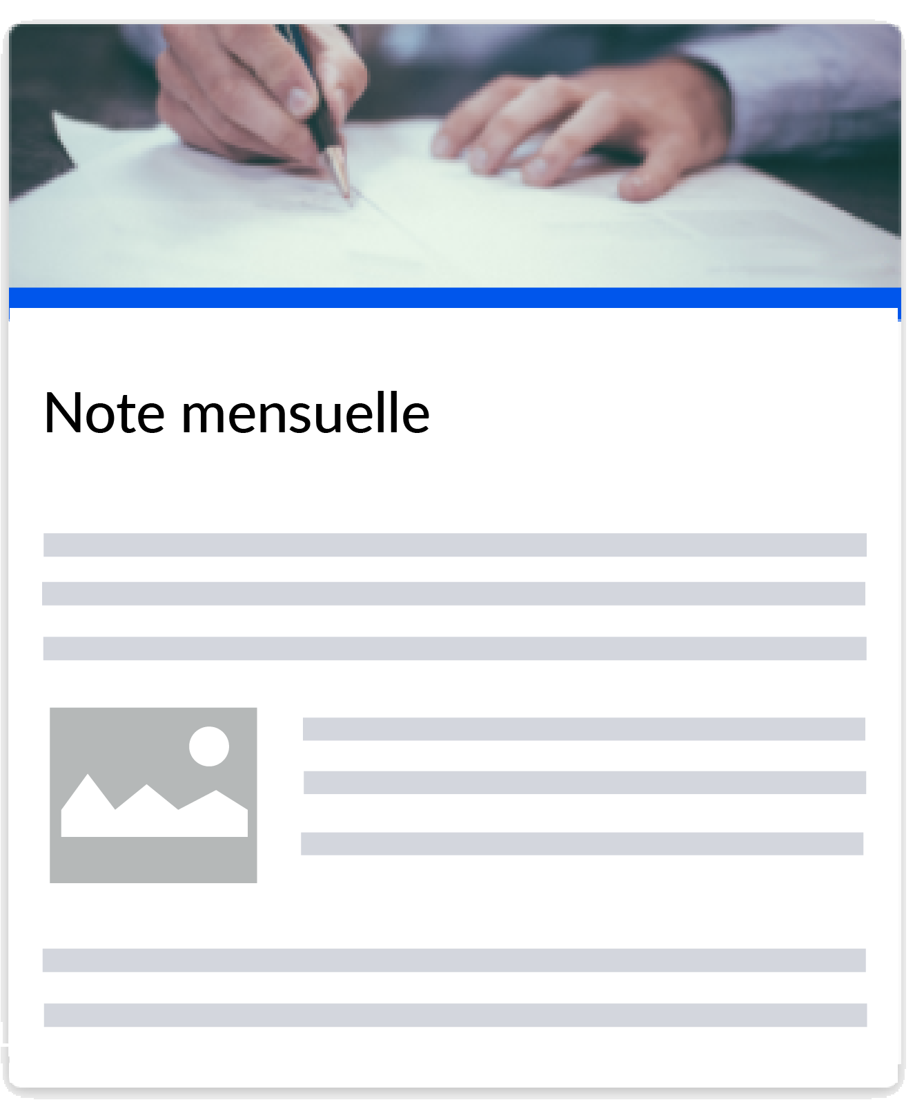 Template monthly note