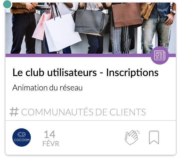 Club utilisateurs